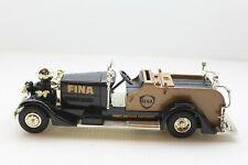 ERTL 1937 Ahrens Firetruck #1 Fina Port Arthur Refinery Diecast Bank