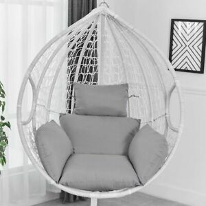 Swing Hanging Egg Rattan Chair Outdoor Hammock Stand Cushions not include Chair