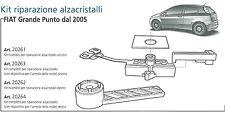 FIAT GRANDE PUNTO 2005> KIT RICAMBIO PER RIPARAZIONE ALZACRISTALLI SX COD 20261