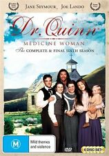 Dr Quinn Medicine Woman Season 6 (the Final Season) NEW R4 DVD