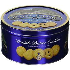 Butter Cookies Breakfast Snacks Pack Of Biscuits Sweet For Tea In Metal Tin 24oz