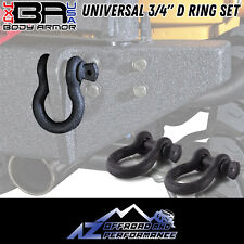 "Body Armor 4X4 | Universal 3/4"" D Ring Set 3202 