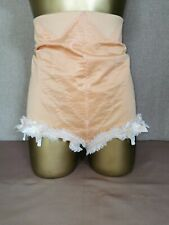 HIGH WAIST PANTIE GIRDLE PEACH BY PLAYTEX WAIST SIZE 34 INCHES # 1129