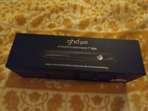 """ghd 46640 Gold Professional 1"""" Ceramic Styler Classic Flat Iron,New, Sealed"""