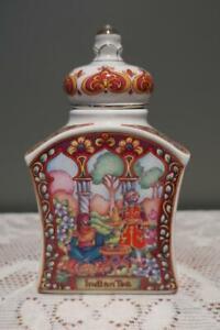 Sadler England The World Of Tea Caddy - Indian Tea - Boxed - Collectable - Vgc