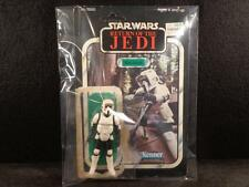 Vintage 1983 STAR WARS ROTJ BIKER SCOUT FIGURE & ORIGINAL CRISP 65 BACK CARD