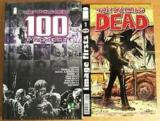 THE WALKING DEAD #1 IMAGE FIRSTS + WALKING DEAD 100 PROJECT HARD COVER EDITION