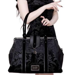 KILLSTAR Monstra Daybag Bag Purse Velvet Cthulhu Abyss Moon Gothic RARE NWT