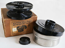 Excellent Watson 35mm Daylight Developing Tank in Original Box with Reel