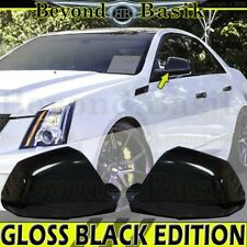 2008 2009 2010 2011 2012 2013 CADILLAC CTS GLOSS BLACK Mirror Cover Overlays