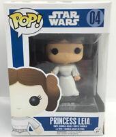 Funko Pop Star Wars #04 Princess Leia Blue Box