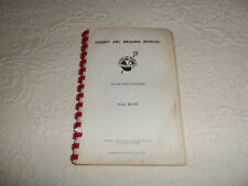 1958 FORNEY ARC WELDING MANUAL