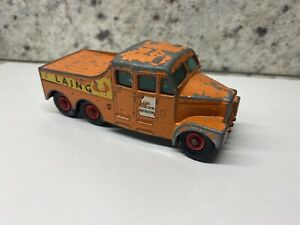 Matchbox King Size K-8 Scammell 6x6 Tractor Unit 'Laing'