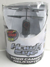 Air Hogs Hawk Eye Channel B RC Video Camera Helicopter New Damaged Box
