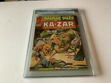SAVAGE TALES 6 CGC 9.2 WHITE NEAL ADAMS KAZAR BRAK MARVEL COMIC MAGAZINE 1974