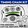 For Mercedes C200 Camshaft Adjusters Timing Chain Kit W204 C250 E250 Car