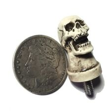 Skull Seat Bolt 1/4x20 fit Harley Hot Rat Street Rod Skeleton Made in USA 34TB