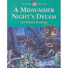 A MIDSUMMER NIGHT'S DREAM WITH RELATED READINGS, LIKE NEW, FREE SHIPPING
