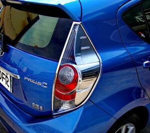 IDFR Toyota Prius C 2012~2017 Chrome frame bezel for tail lights