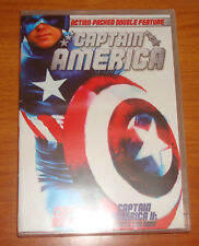 CAPTAIN AMERICA DOUBLE FEATURE 1 AND 2 DEATH TOO SOON. BRAND NEW SEALED!!