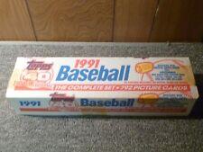 1991 Topps Factory Baseball Set
