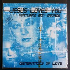 "Jesus Loves You Ft Boy George ‎– Generations Of Love (Vinyl, 12"", Maxi 33 Tours)"