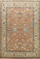 Geometric Traditional Oriental Hand-knotted Area Rug Wool Home Decor Carpet 8x10