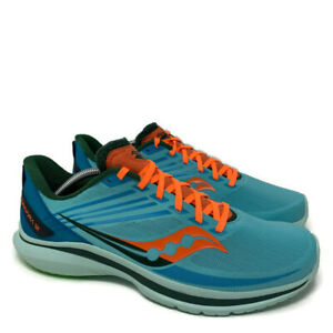 Saucony Mens Kinvara 12 Running Shoes Size 11 Blue Athletic S20619-26