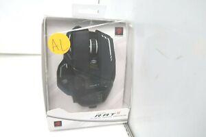 Verbatim Mr05Dcambl00 Mad Catz Authentic R.A.T. 8+ Optical Gaming Mouse