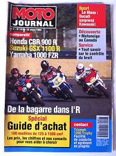 N°1078 MOTO JOURNAL; Spécial Guide d'achat, 180 modèles de 125 à 1500 cm3
