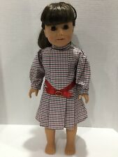 "SAMANTHA AMERICAN GIRL DOLL 18"" PLEASANT COMPANY COLLECTION WITH Meet Dress"