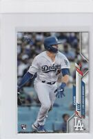 2020 TOPPS SERIES ONE RC GAVIN LUX LOS ANGELES DODGERS ROOKIE - B7681
