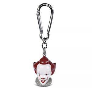 Genuine IT Pennywise The Clown 3D Polyresin Keyring 🇬🇧 UK SELLER