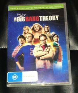 The Big Bang Theory : Season 7 (DVD, 2014, 3-Disc Set) Brand New Sealed R4