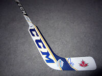 CAREY PRICE Canada World Cup Hockey SIGNED Autographed Mini Goalie Stick COA BAS