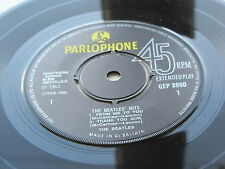 THE BEATLES  UK EP  THE BEATLES HITS 1969 PRESSING EXCELLENT