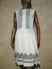 CHIC VINTAGE ROBE 1960 VTG DRESS 60s MOD SPACE AGE KLEID 60er ABITO (38)
