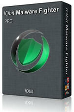 IObit Malware fighter Pro 4 (3 PC 1 Year), Anti Virus spyware, adware,trojan  ++