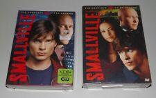 SMALLVILLE Season 5 & 3 DVD New SEALED Free Ship CW DC Comics Superman NEW