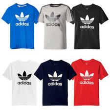 Magliette e maglie adidas a manica corta per bambini dai 2 ai 16 anni 100% Cotone