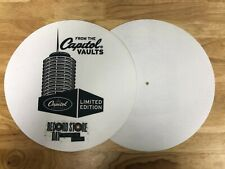 Commemorative Capital Records Slipmats from Record Store Day 2009.