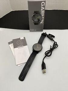Garmin Vivomove HR Hybrid Smartwatch Sport Black