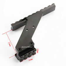 1X Tactical Scope Mount Picatinny Rail For Pistol Hand Gun 17 19 20 22 23 30 32