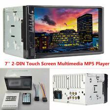 7'' 2DIN Bluetooth Digital Touch Screen Handsfree Car Audio Video AUX MP5 Player