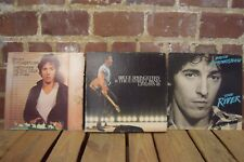 Bruce Springsteen Vinyls: Darkness on the Edge of Town, The River & Live 75-85