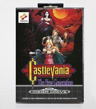 Juego Sega Mega Drive Castlevania The New Generarions PAL