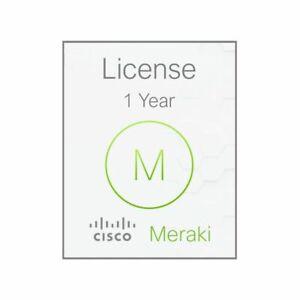 Cisco Meraki MX84 1 Year Advanced Security License and Support LIC-MX84-SEC-1YR