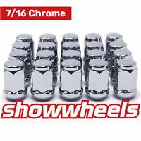 "20 x 7/16"" chrome wheel nuts Holden HQ HJ HX HZ WB Monaro EH HR HT HK HG Torana"