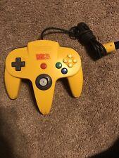 Nintendo N64 Controller Donkey Kong 64 Banana Controller Working Rare