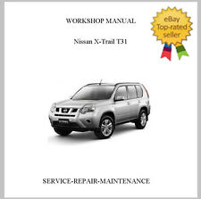 2007-2014 PROFESSIONAL NISSAN XTRAIL X-TRAIL T31 OFFICIAL SERVICE REPAIR MANUAL
